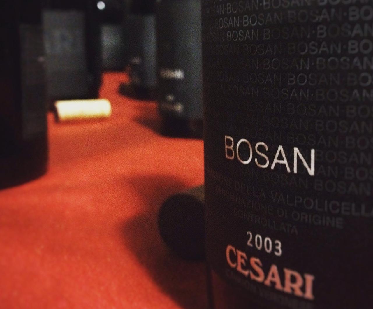 Serata Amarone con verticale storica di BOSAN