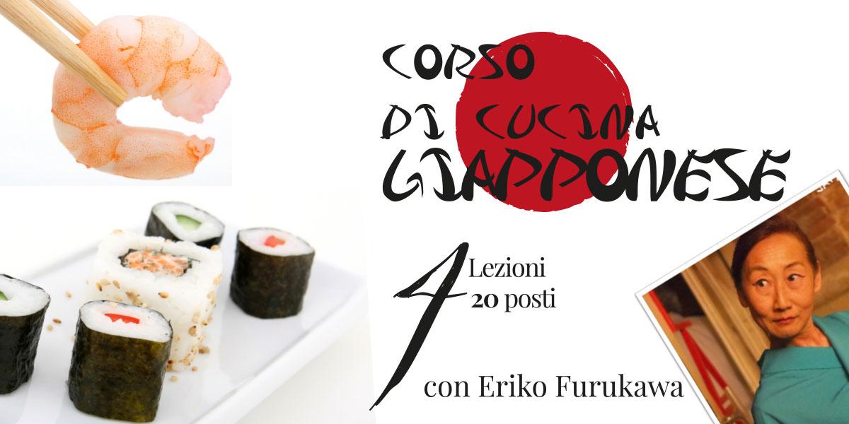 Corso di cucina Giapponese con Eriko Furukawa