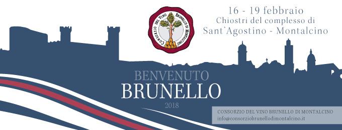 Benvenuto Brunello 16-17 FEBBRAIO 2018