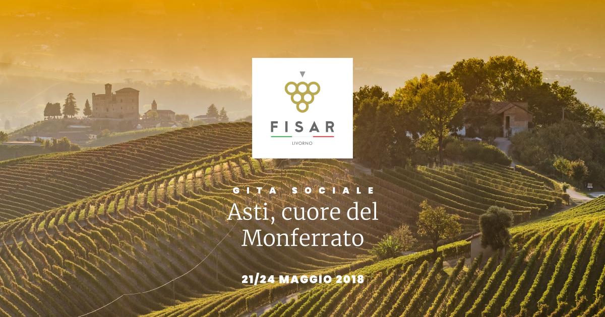 Gita ad Asti, nel cuore del Monferrato 21-24 Maggio 2018