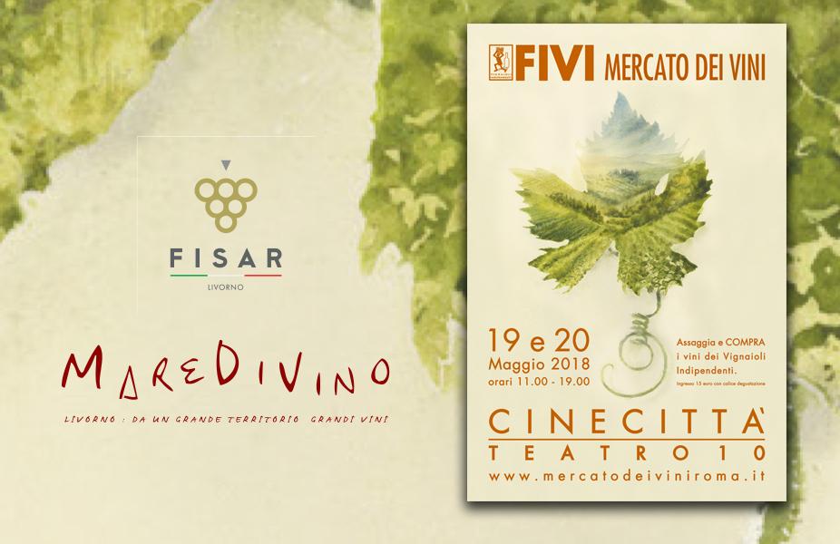 MareDiVino a FIVI Roma 2018 il 19 e 20 Maggio 1